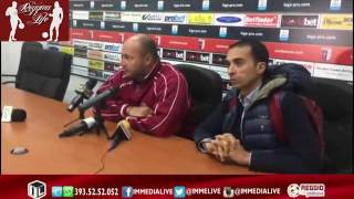 Vibonese-Reggina Mr. Zeman nella conferenza stampa post partita (30/10/2016)