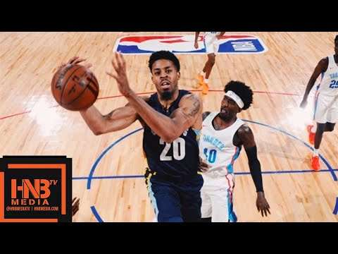 Oklahoma City Thunder vs Memphis Grizzlies Full Game Highlights / July 12 / 2018 NBA Summer League
