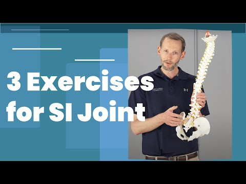 3 Exercises for SI Joint Pain Relief