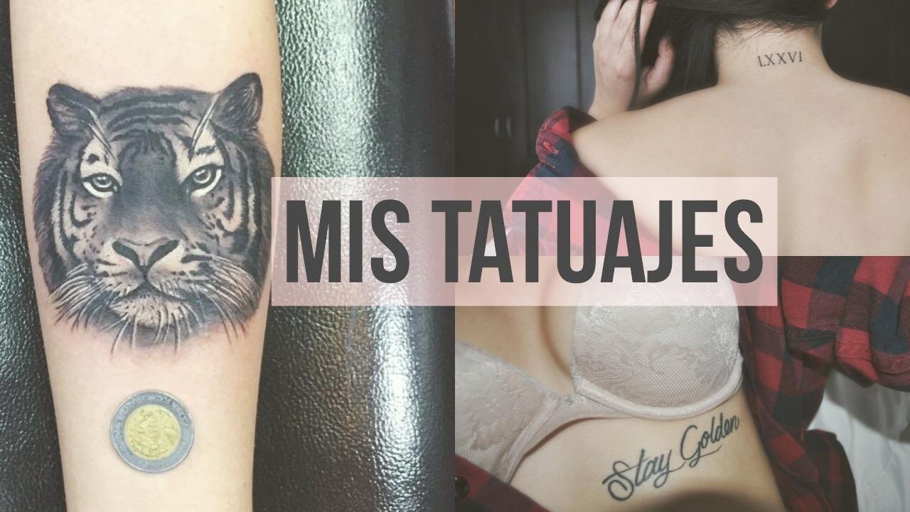 MIS TATUAJES♥ - Significado, precio, dolor - andrealorexo..