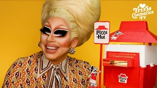 Trixie Tries Baking a Pizza In A 1975 Pizza Hut Toy Oven