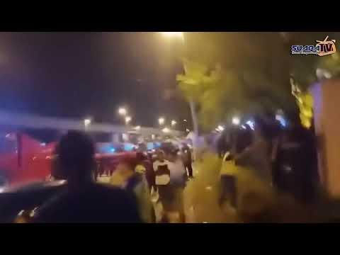 Kecoh Rusuhan Di Kuil Subang Jaya, 18 Kenderaan Terbakar