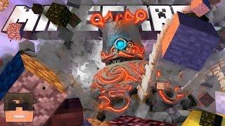 Minecraft: BLOWING UP A LEGEND OF ZELDA GUARDIAN IN MINECRAFT!