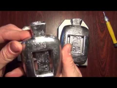 Анатомический груз для подводной охоты, дайвинга. Краткий видеообзор.