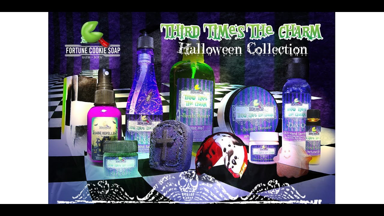 fortune cookie soap third times the charm halloween 2014 collection overview