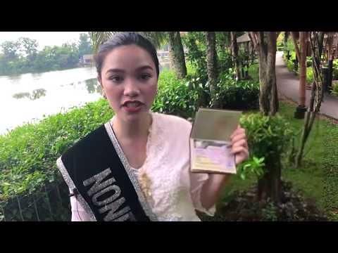 Mit Sicherheit nach Jakarta - Indonesien Miss Jakarta begrüssen charmant Gäste auf Java