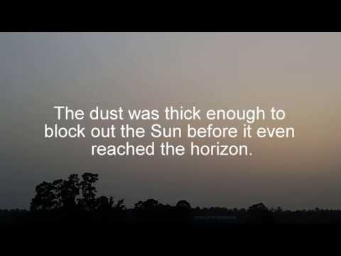 Image result for Dust Blocking The Sun youtube
