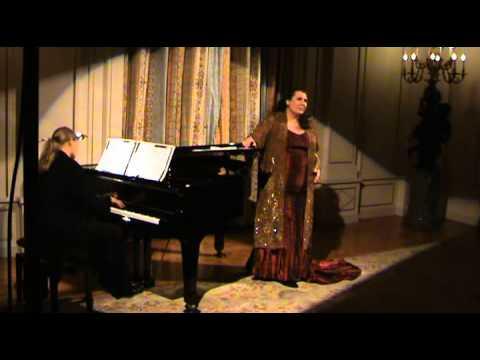 Janina Baechle/ Kristin Okerlund  Reynaldo Hahn Quand la nuit n´est pas étoilée