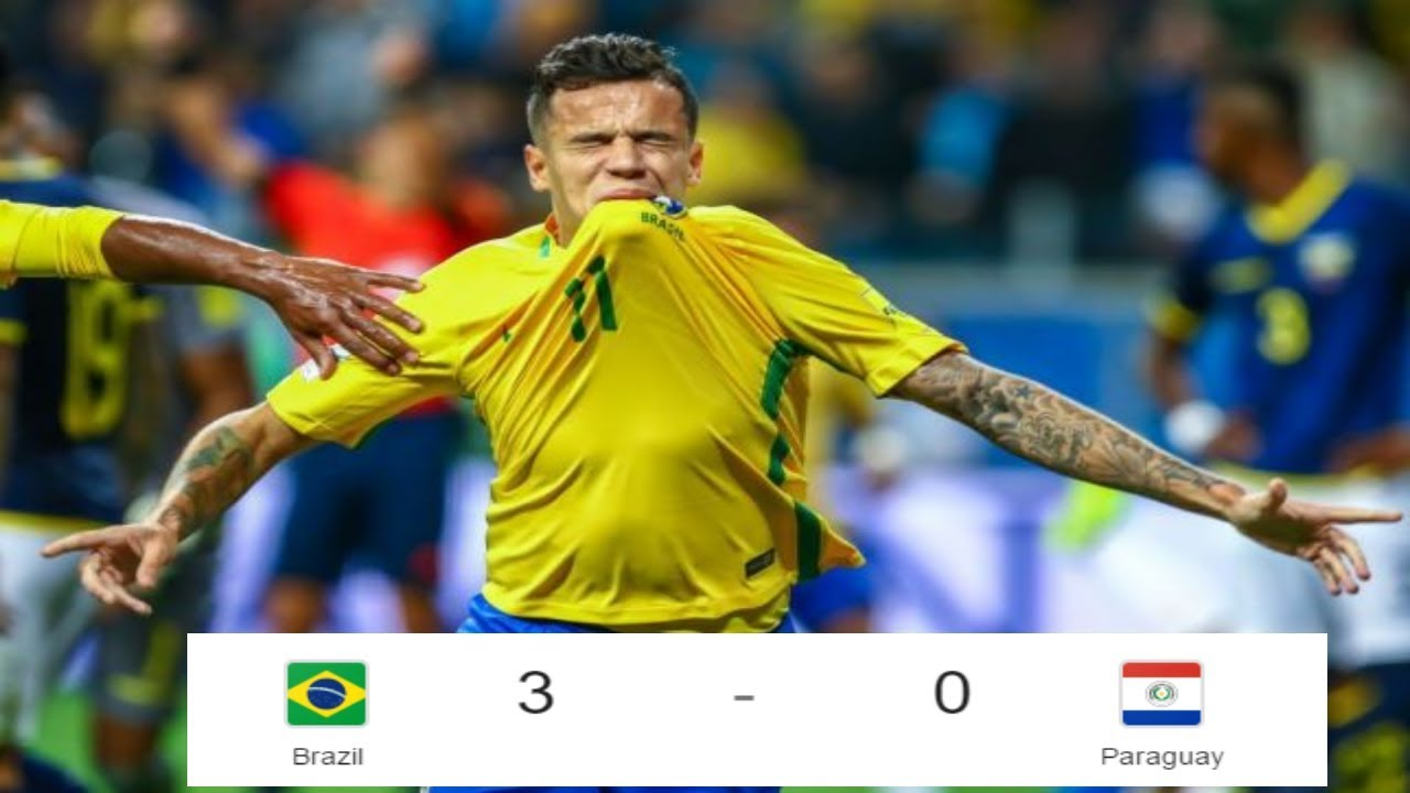 Download Brazil vs Paraguay   3   0   All Goals  & Extended Highlights   World Cup Qualifying   28 ⁄03 ⁄2017
