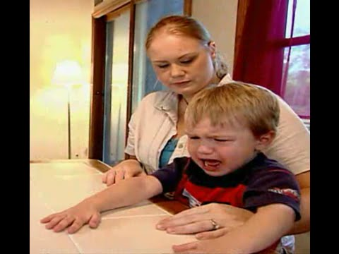 3 year old autistic boy speaks for the first time...Supernanny USA