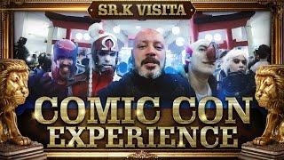 Comic Con Experience 2015   Sr. K Visita