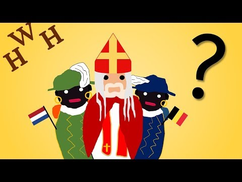 "Dutch ""Christmas"" Tradition - Sinterklaas and Zwarte Piet"