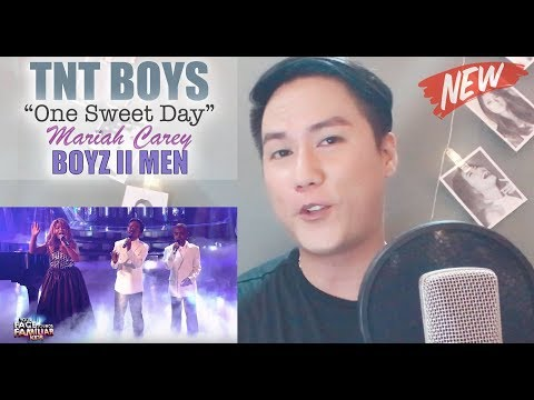 TNT Boys as Mariah Carey, Boyz II Men - One Sweet Day [REACTION]
