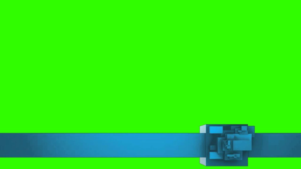 Intro Effect blue banner - green screen effects - YouTube
