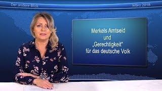 """Eva Herman über Merkels Amtseid: """"Gerechtigkeit"""" für das deutsche Volk?"""