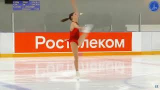 Anastasia GULYAKOVA Senior Ladies Short Program 3 Russian Cup 3rd Stage 2019 11 2