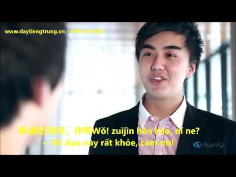 Tự học tiếng trung với chủ đề Chào hỏi trong tiếng Trung