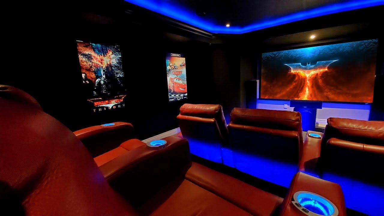 Basement Home Theater Game Room Man Cave Arcade Video Game 7 2 4 Feb 2020 Setup Youtube