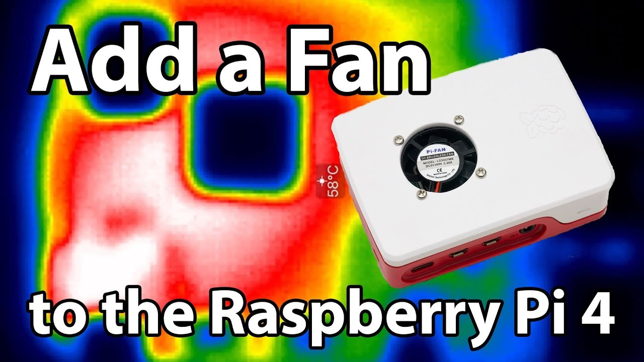 the raspberry pi 4 needs a fan, here's why and how you can add one | jeff  geerling