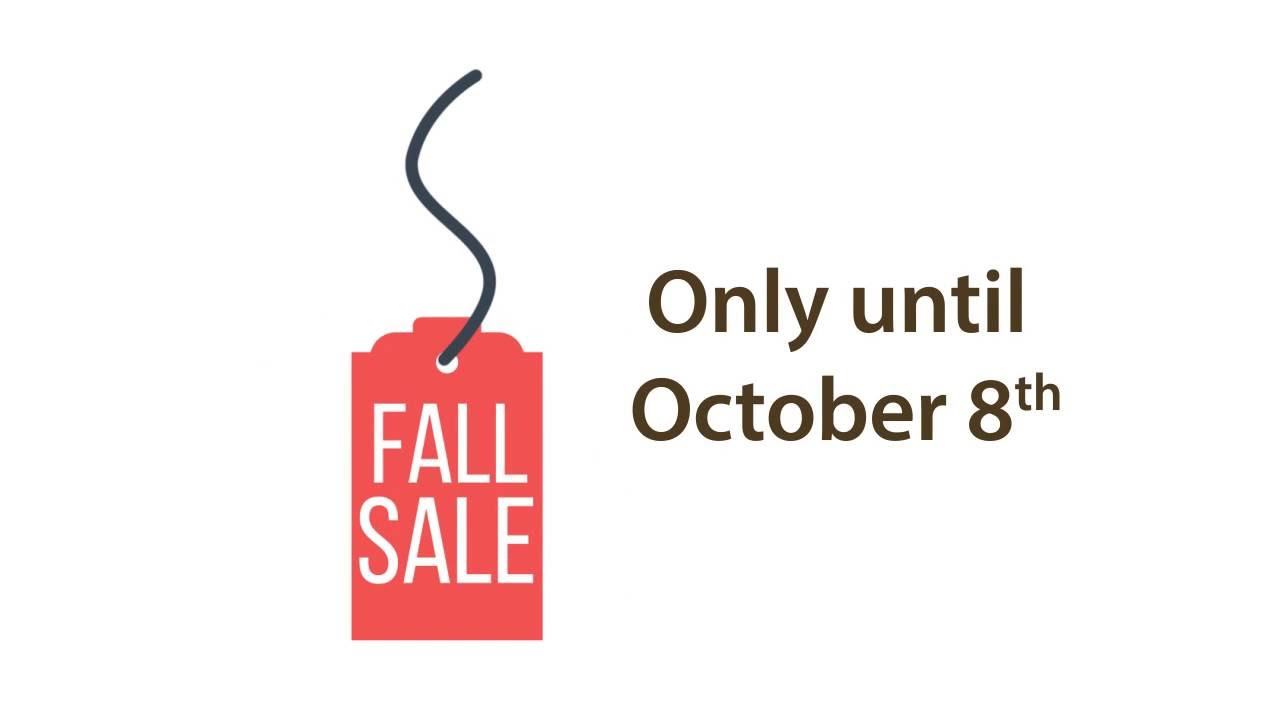 Fall sale at barewood furniture