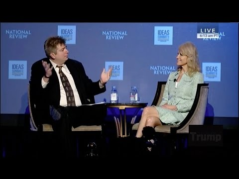 KellyAnne Conway National Review Ideas Summit Interview