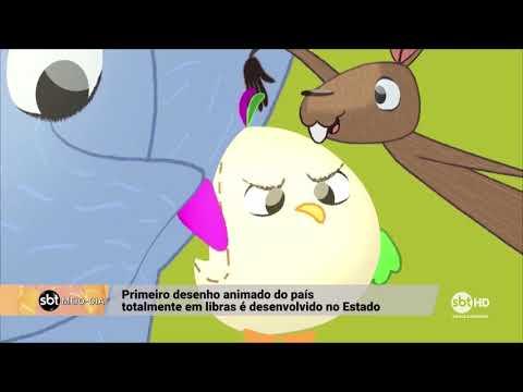 Primeiro desenho animado no país totalmente em Libras é desenvolvido em SC