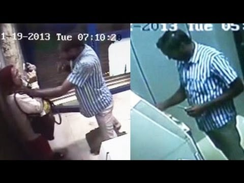 CCTV footage of man resembling Bangalore ATM attacker ...