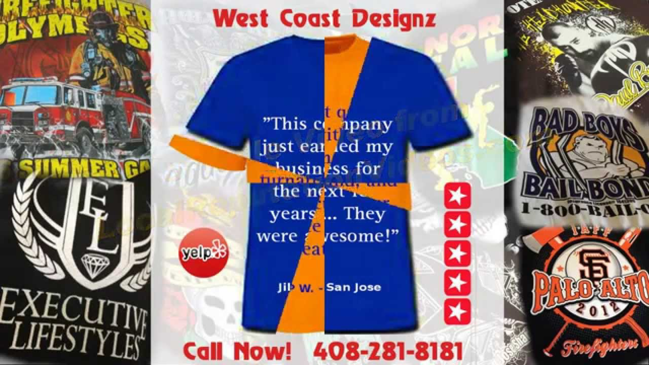 West Coast Designz Reviews San Jose Ca Custom T Shirt Printing