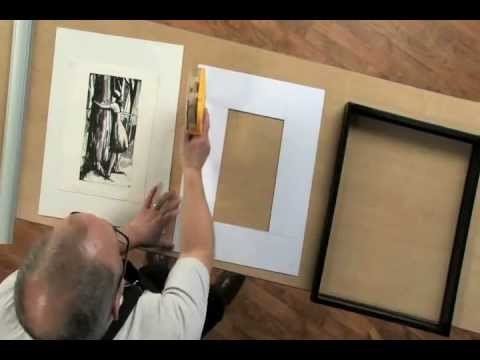 How to measure and cut a mat youtube how to measure and cut a mat blick art materials solutioingenieria Gallery