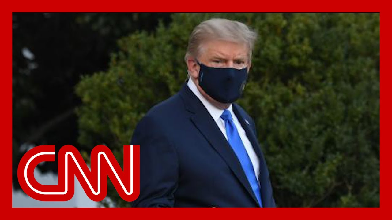 Trump leaves White House for Covid-19 treatment at hospital