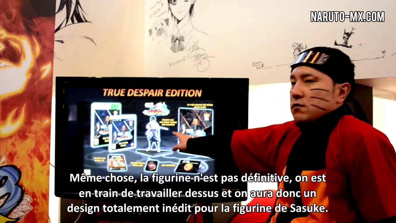 Naruto Shippuden Ultimate Ninja Storm 3 - Rencontre au mangacafé avec Hiroshi Matsuyama