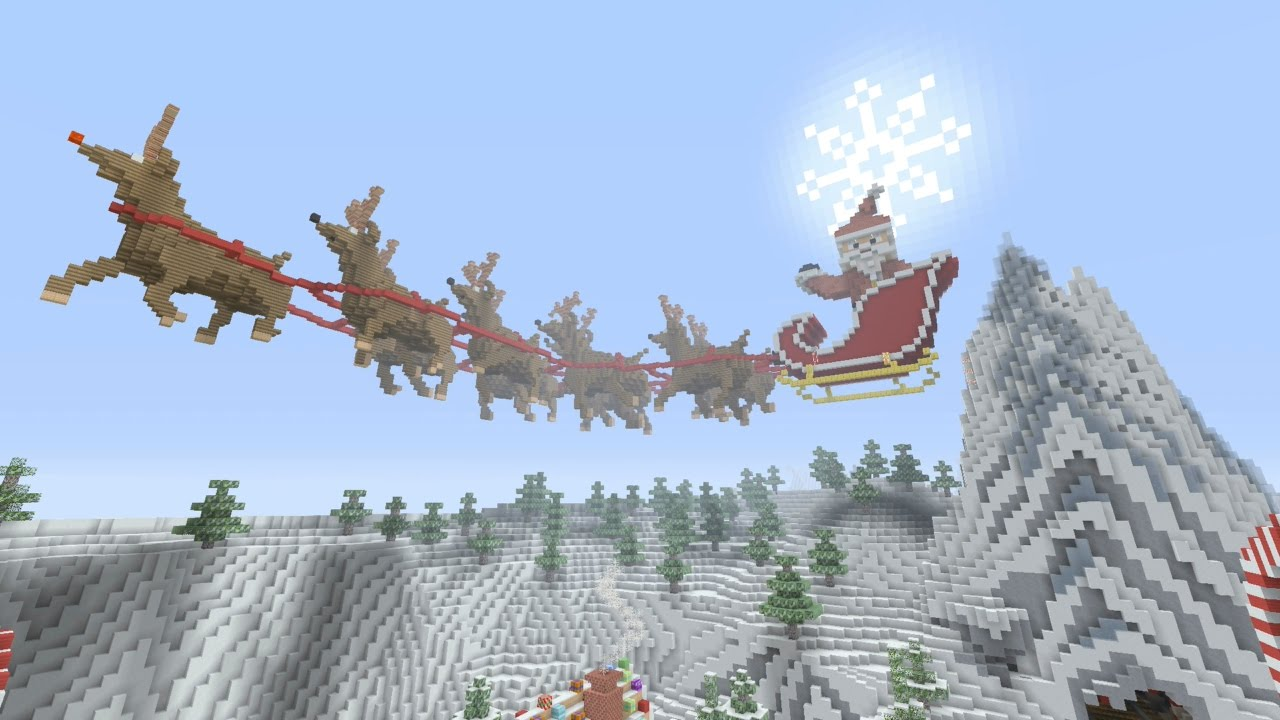 Minecraft Christmas Map.Minecraft Ps3 Christmas Wonderland Hunger Games Download