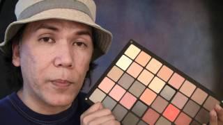 Inglot's 40-color NEUTRAL Palette