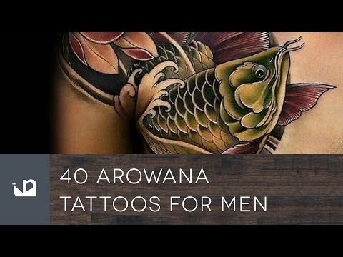 40 Arowana Tattoos For Men