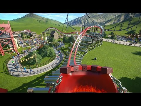 Storm Chaser (Recreation) POV - Planet Coaster RMC Iron Horse