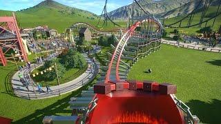 storm chaser recreation pov planet coaster rmc iron horse