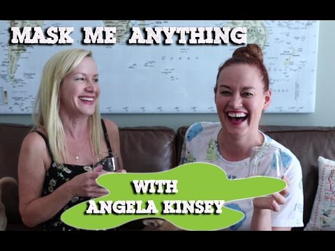 MASK ME ANYTHING w/ Angela Kinsey