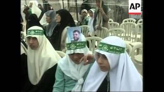 Rantisi, Arafat, Qureia comments, mourning