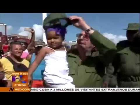 Cuba: Raúl Castro recorre zonas afectadas por el ciclón Matthew