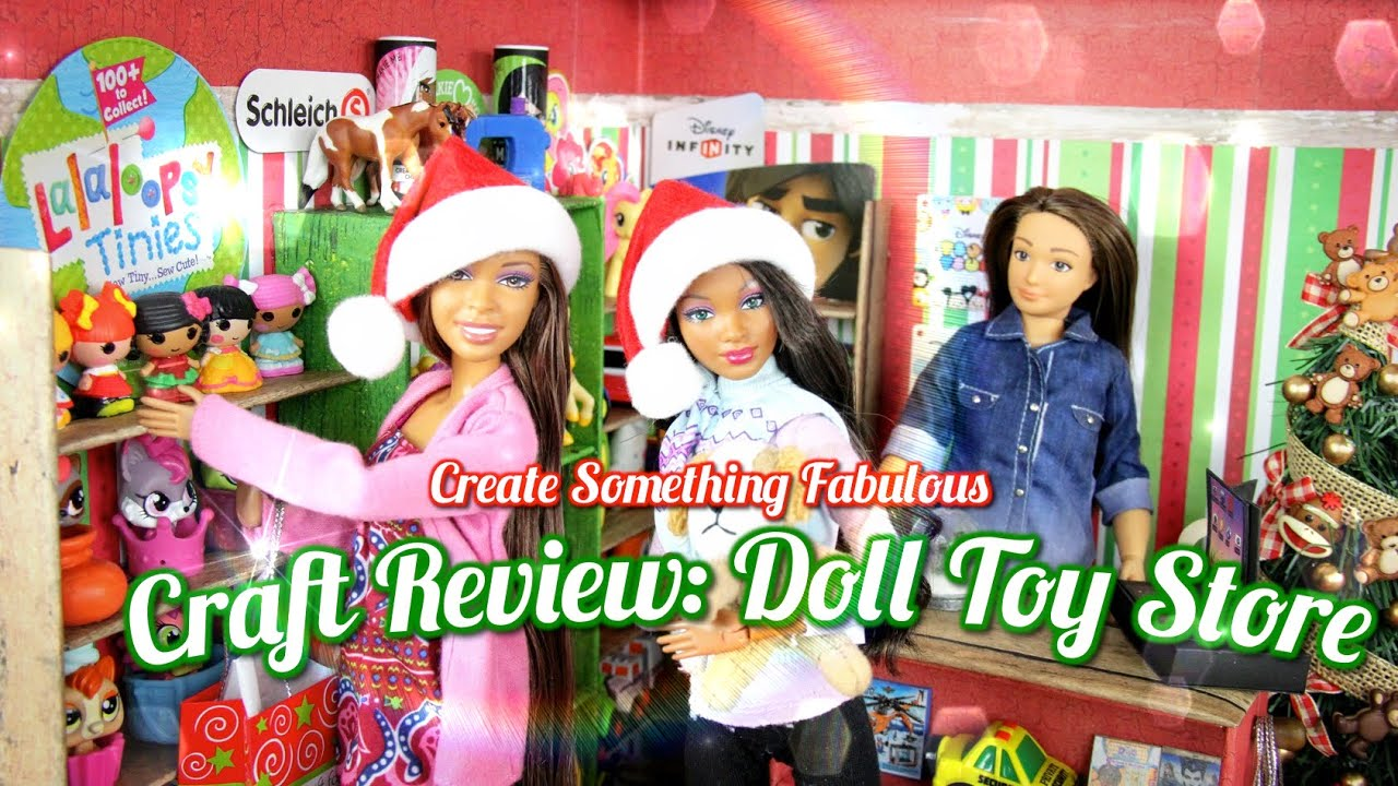 Create something fabulous craft review doll toy store for Create and craft tv reviews