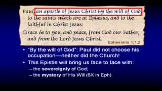 Chuck Missler - The Book of Ephesians - Session 1