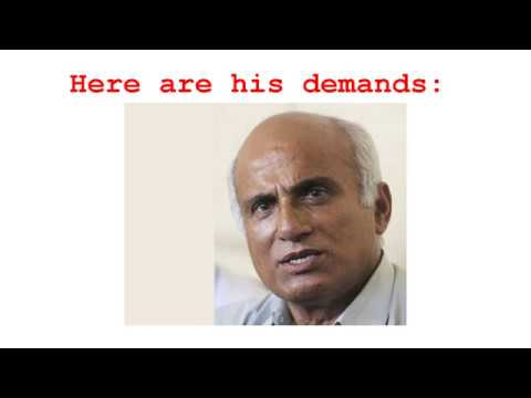 Dr. KC is on his 17th hunger strike. What are his demands?