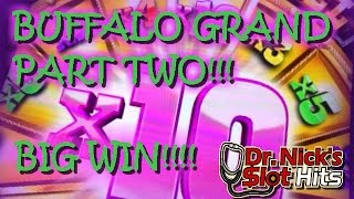 **BIG WINS!!!/TONS OF RETRIGGERS!!!** Buffalo Grand Slot Machine Part 2