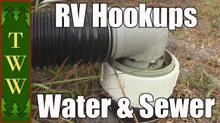 RVing Basics: The Water and Sewer Hookups