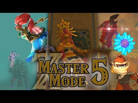 Link VS Yiga Master Dong! BotW Master Mode Funny Moments PART 5!!