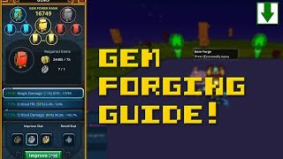 How to Upgrade Gems in Trove! Gem Forge Guide