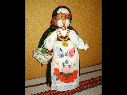 Как сделать куклу мотанку Берегиню своими руками Мастеркласс