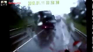 АВТОмобильное происшествие - Подборка страшных ДТП с фурами на видеорегистратор 2015