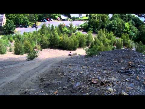 glen burn hill climb (stock 700 raptor)