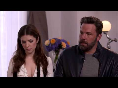 Interviewers Asking Ben Affleck about the Batman Movie And Him Getting Absolutely Sick Of It